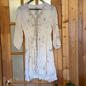 Free People tunic dress, size s